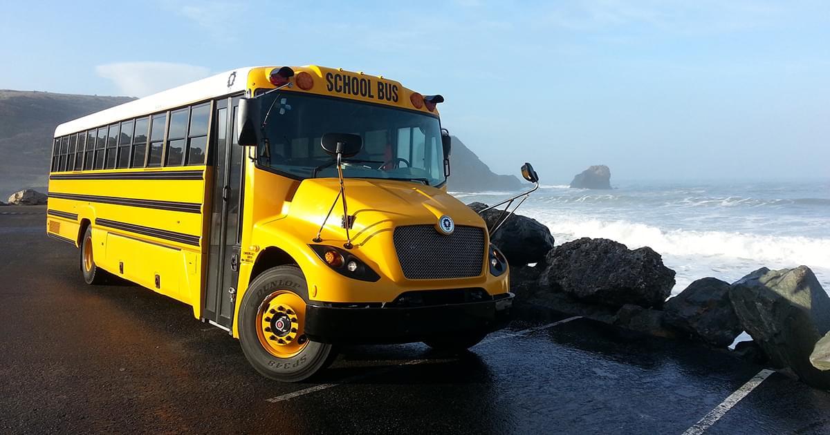 The Lion Electric Co Diesel School Bus